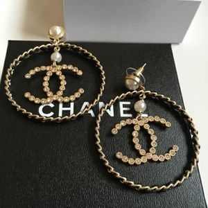 XL Chanel Hoops